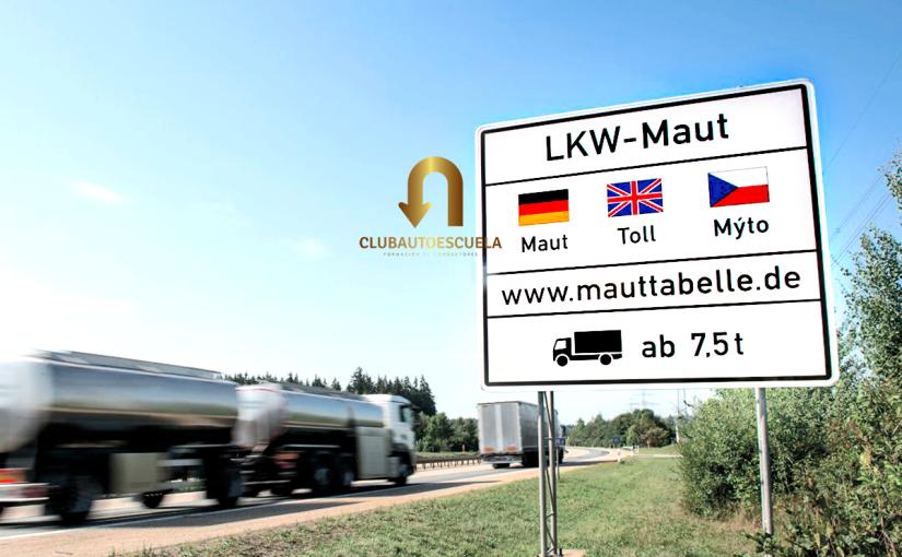 Peajes en Alemania al Transporte de Mercancías por Carretera