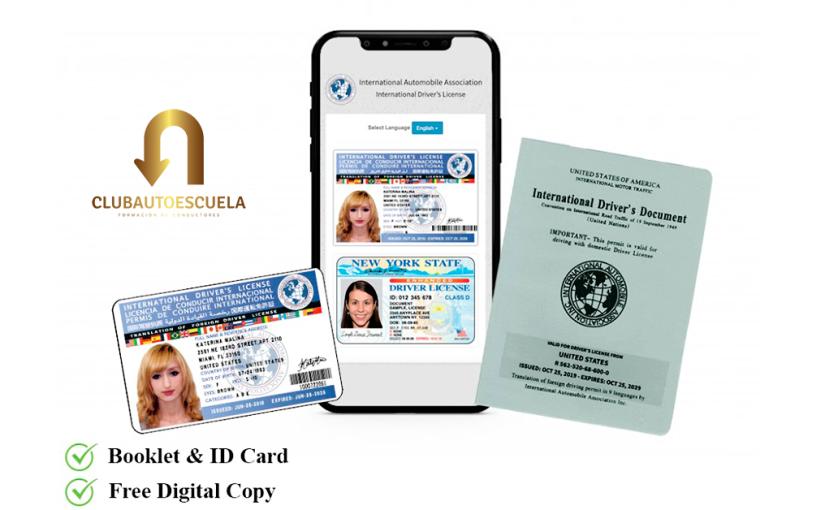 Como obtener la Licencia Internacional deConducir