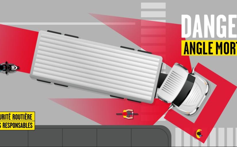 Todos los vehículos de transporte de mercancías y conjuntos de más de 3,5 Tn de MMA, además de los autobuses, deben llevar una señalización de advertencia de ángulomuerto