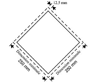 etiqueta dimensiones