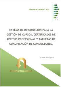 Sistema de Gestión de los cursos CAP