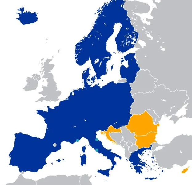 Espacio Schengen 2021