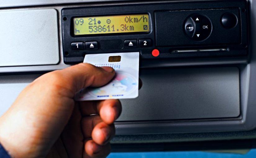 Usar la tarjeta de otro conductor es manipulación del tacógrafo ydelito
